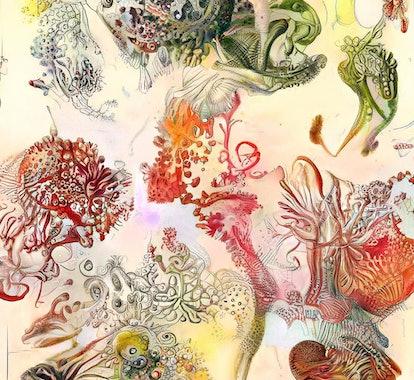 generative artwork by Sofia Crespo