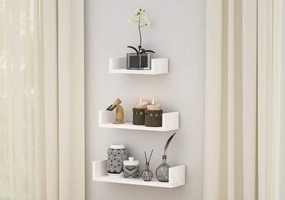 SRIWATANA Floating Shelves (Set Of 3)