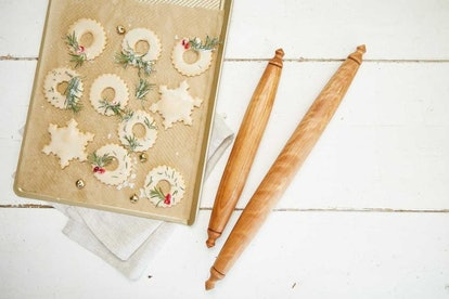 Half Baked Harvest x Etsy Mommy & Me Rolling Pin Set, Holiday Baking Tapered Pin