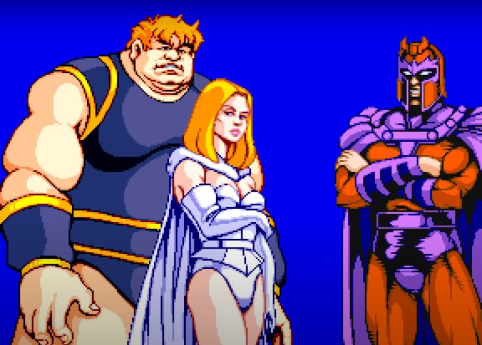 x-men arcade game konami