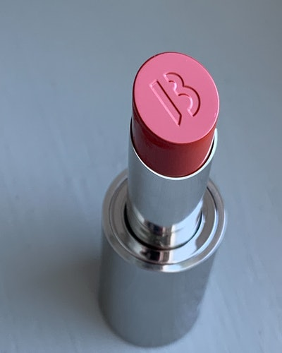 BYREDO Makeup Review: up close shot of Lipstick imprint.