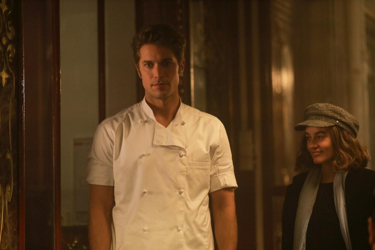 Lucas Bravo as Gabriel in 'Emily in Paris' Season 1