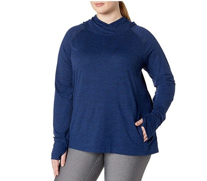 Amazon Essentials Plus-Size Stretch Hoodie