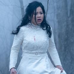 Kelly Marie Tran in 'Monsterland' via the Hulu press site