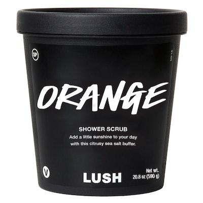Orange Shower Scrub
