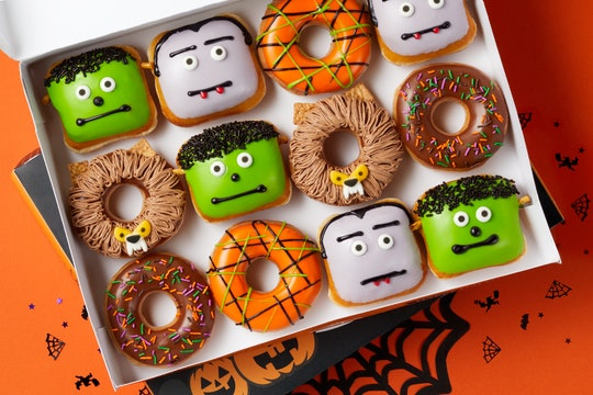 Krispy Kreme's new Monster Doughnuts are turning Halloween into a sweet treat instead of a scare fest.
