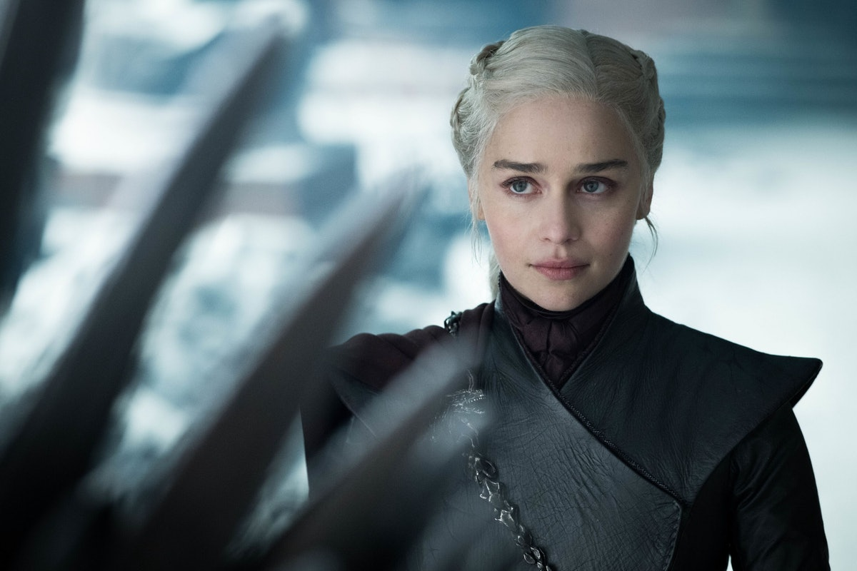 Emilia Clarke as Daenerys in 'Game of Thrones'