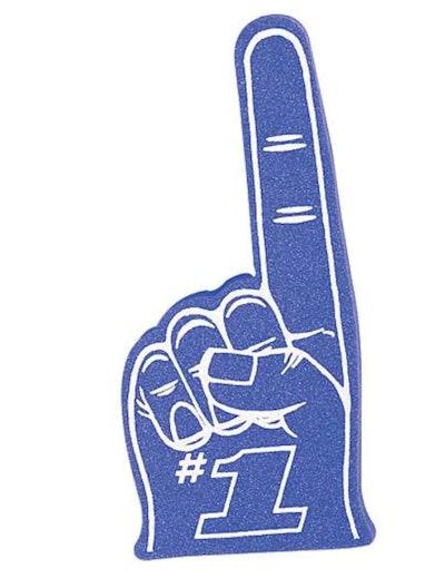 #1 Fan Foam Finger