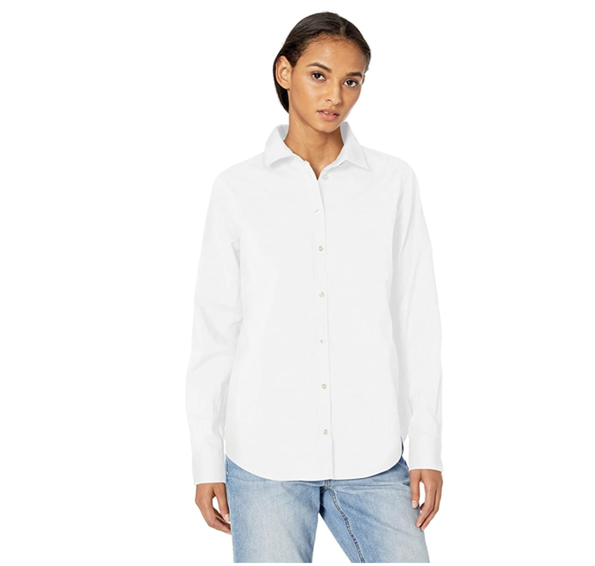 Amazon Essentials Long Sleeve Button Down Shirt