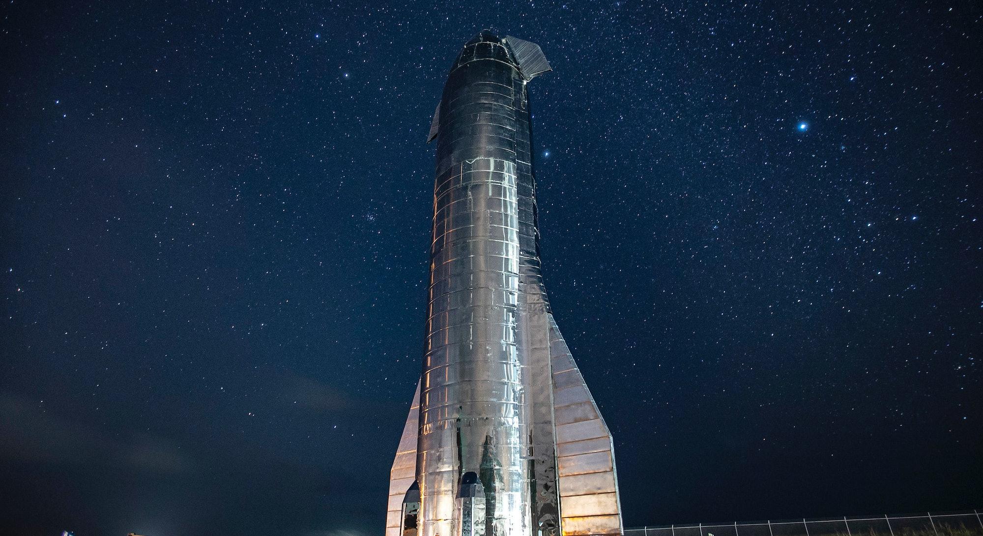 spacex elon musk starship