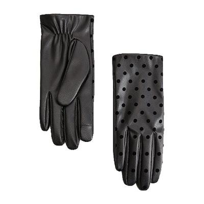 Polka-Dot Gloves
