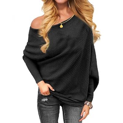 OmicGot Off-The-Shoulders Sweater