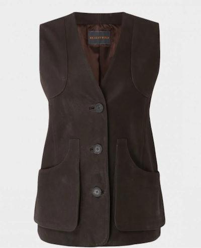 Nubuck Waist Coat