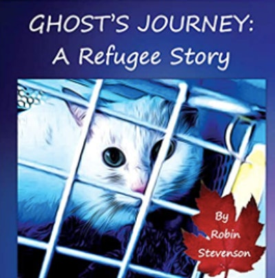 Ghost's Journey: Refugee Story by  Robin Stevenson and Rainer Oktovianus