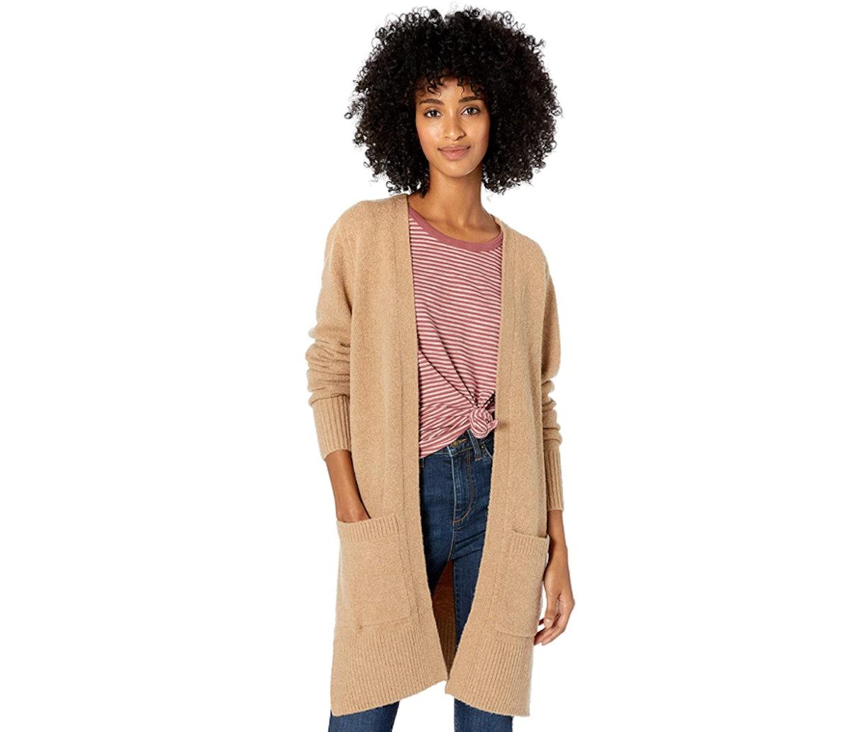 Goodthreads Women's Bouclé Cardigan Sweater
