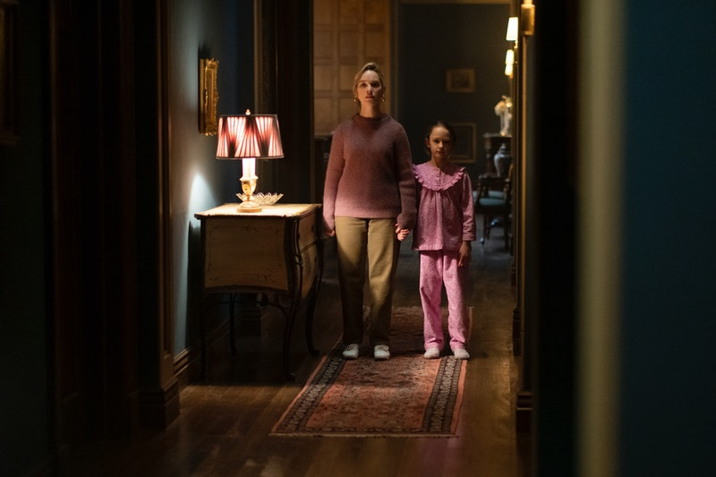 Dani and Flora in 'The Haunting of Bly Manor' via the Netflix press site