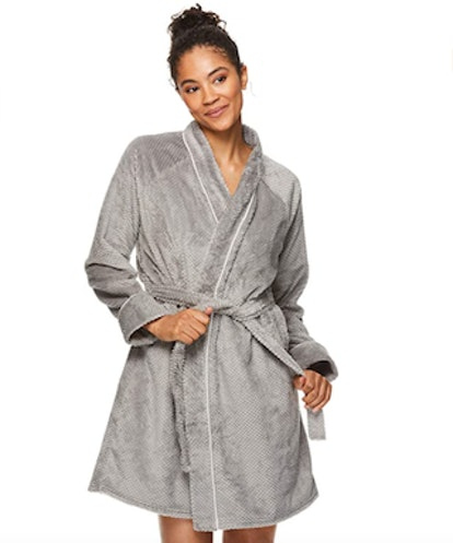Tahari Fleece Bathrobe