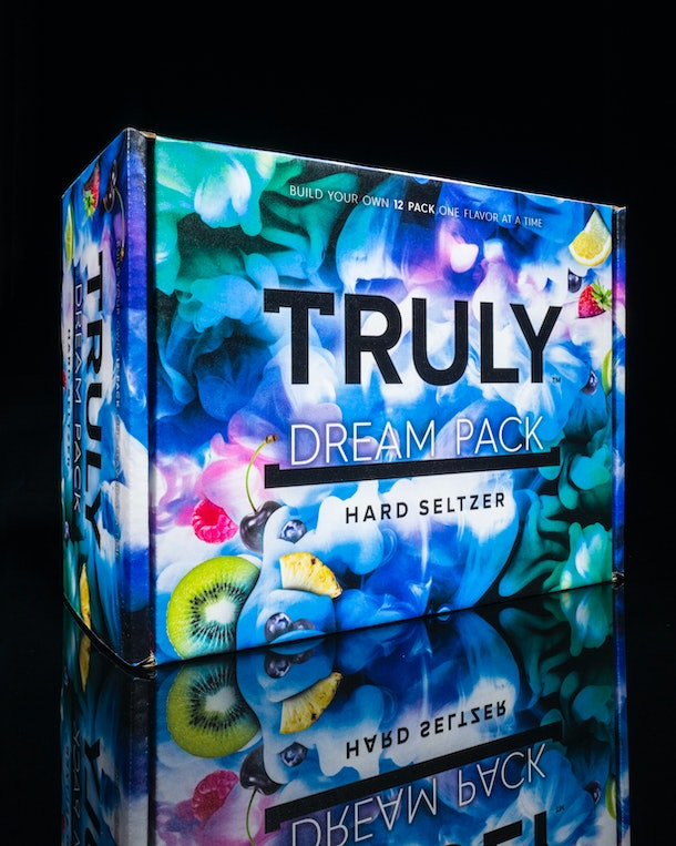 Truly's customized 12-packs let you choose only the flavors you love