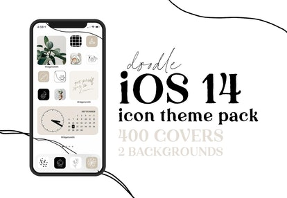 Minimalist Icon Theme Pack for iPhone