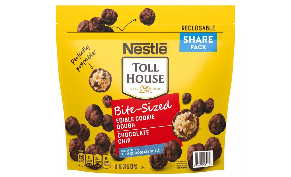 Nestle's new Toll House edible cookie dough bites are available at Sam's Club.