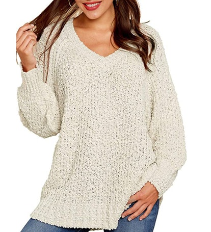 KIRUNDO Fuzzy Sweater