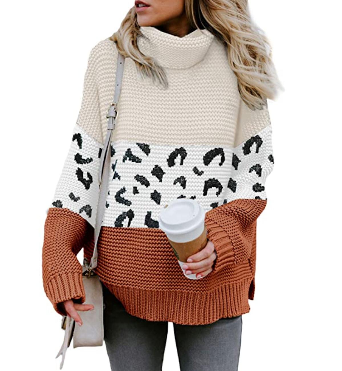 Chase Secret Cowl-Neck Sweater
