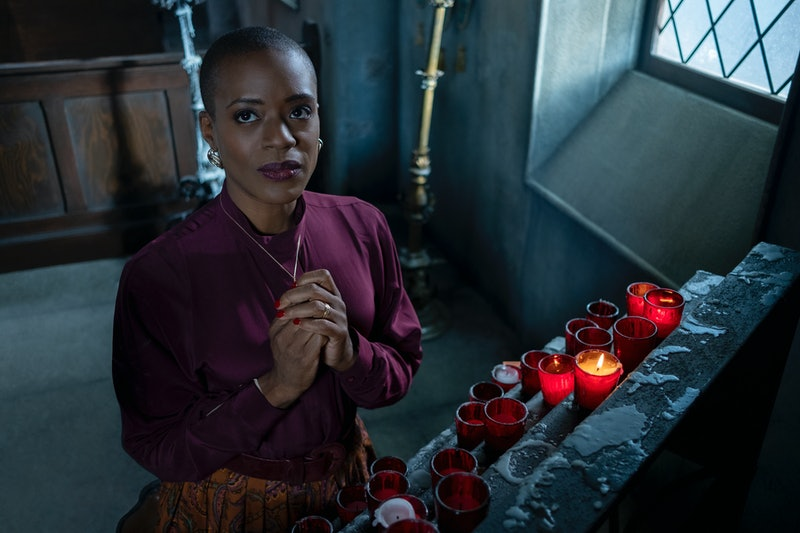 T'Nia Miller discusses Hannah's fate on The Haunting of Bly Manor.