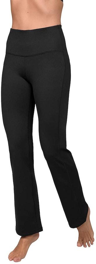 90 Degree by Reflex Fleece-Lined Yoga Pants