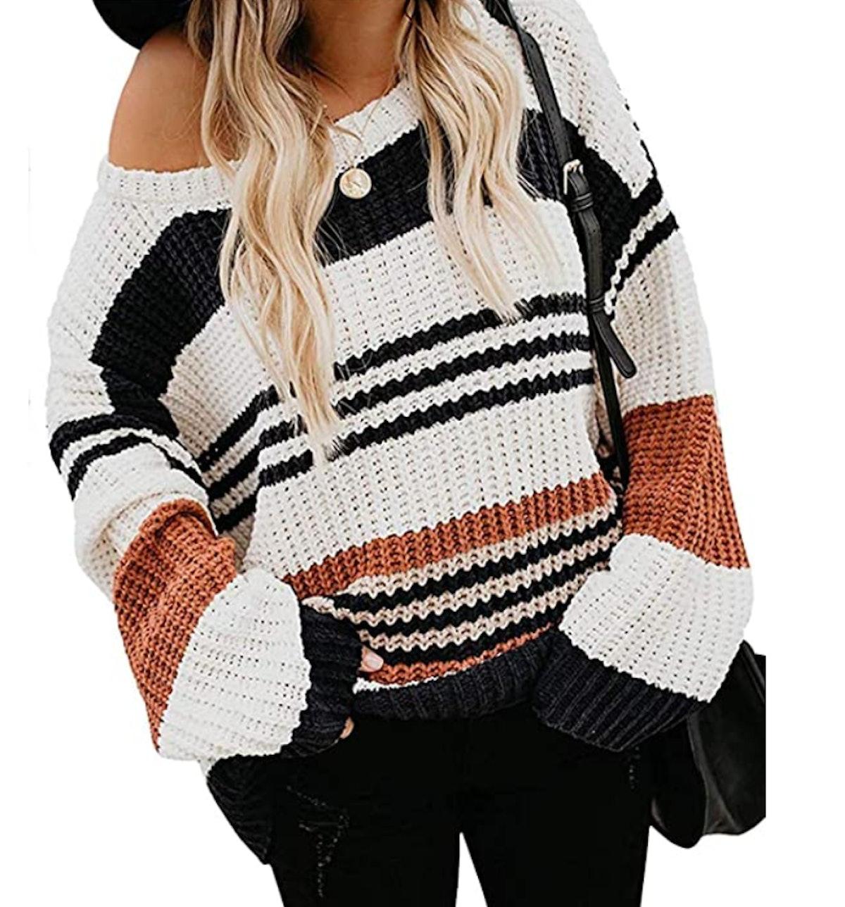 ZESICA Pullover Sweater