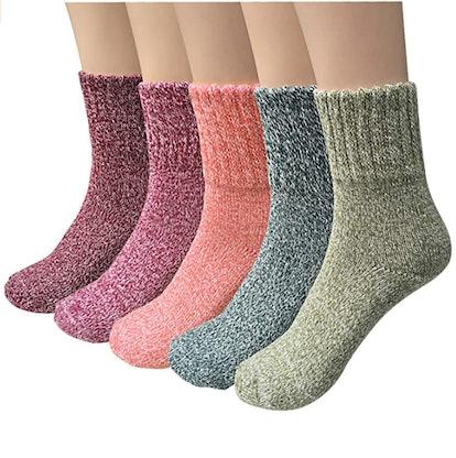 YSense Thick Socks (5 Pairs)