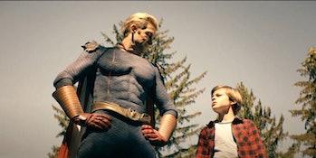 Homelander with his son Ryan in 'The Boys' Season 2.