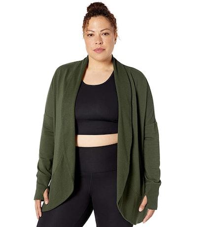 Core 10 Fleece Yoga Wrap