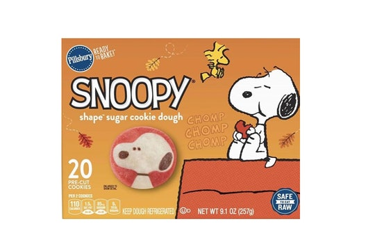 snoopy sugar cookie dough