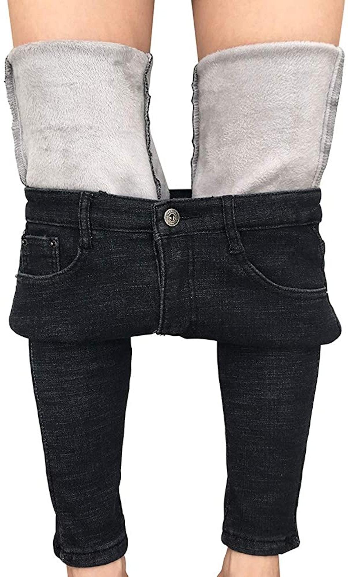 heipeiwa Winter Jeans