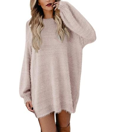 Meenew Pullover Sweater Dress