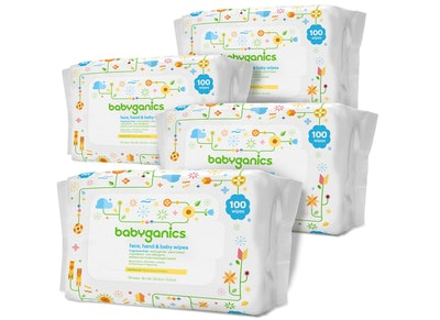 Babyganics Baby Wipes, Unscented (800-Count)