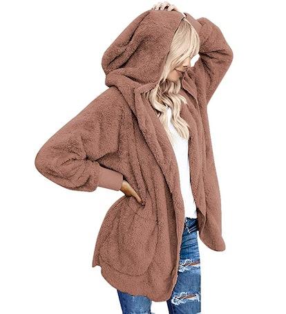 LookBookStore Hooded Cardigan