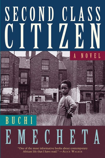 Imagine Me Stories recommends 'Second Class Citizen' by Buchi Emecheta