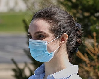 Single Use Disposable Face Mask (50-Pack)