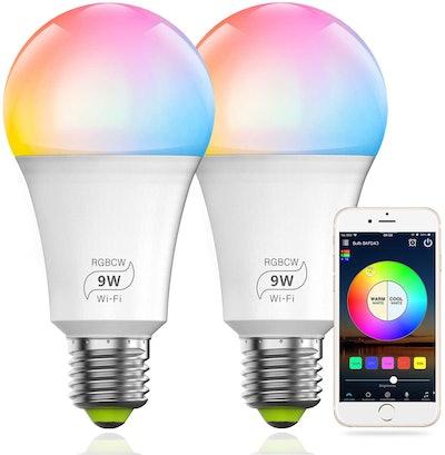 MagicLight Smart Light Bulbs (2-Pack)