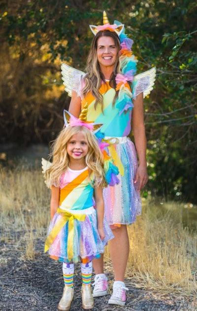 Mom & Me Unicorn Costume
