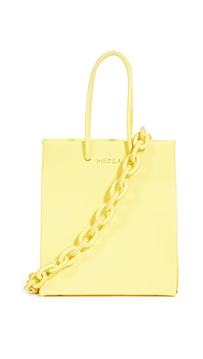 Medea Short Leather Chain Bag