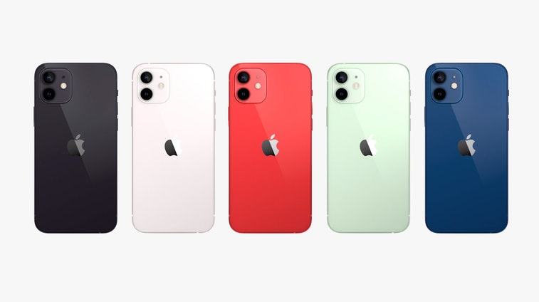 iPhone 12 mini colors