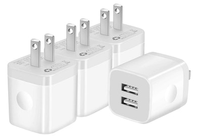 IVELLTARE USB Wall Charger (4-Pack)