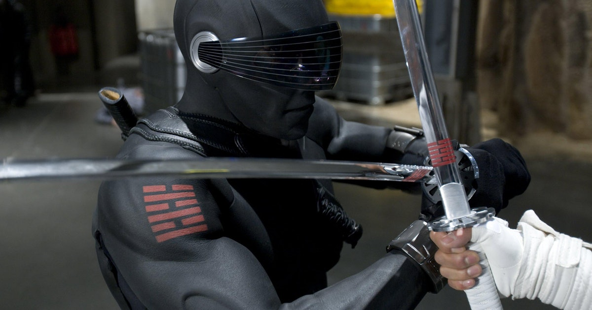 'Snake Eyes' toy leak reveals how it fixes G.I. Joe movie's biggest mistake