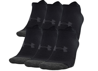 Under Armour Performance Tech No Show Socks (6-Pack)