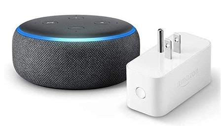 Echo Dot (3rd Gen) with Amazon Smart Plug