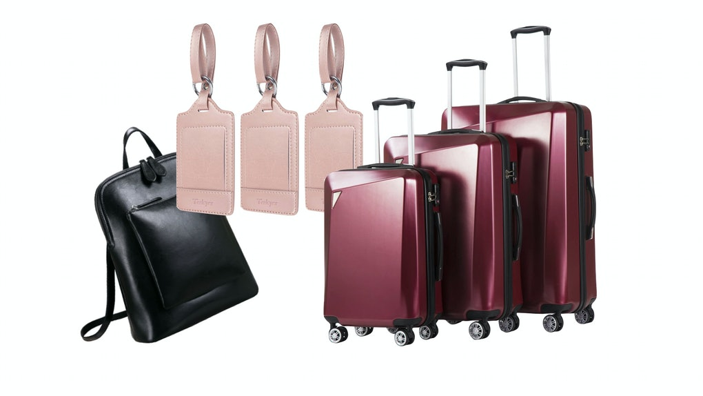 The Amazon Prime Day 2020 luggage deals include suitcase sets, a leather backpack, and luggage tags.
