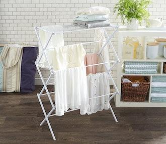 AmazonBasics Foldable Laundry Drying Rack