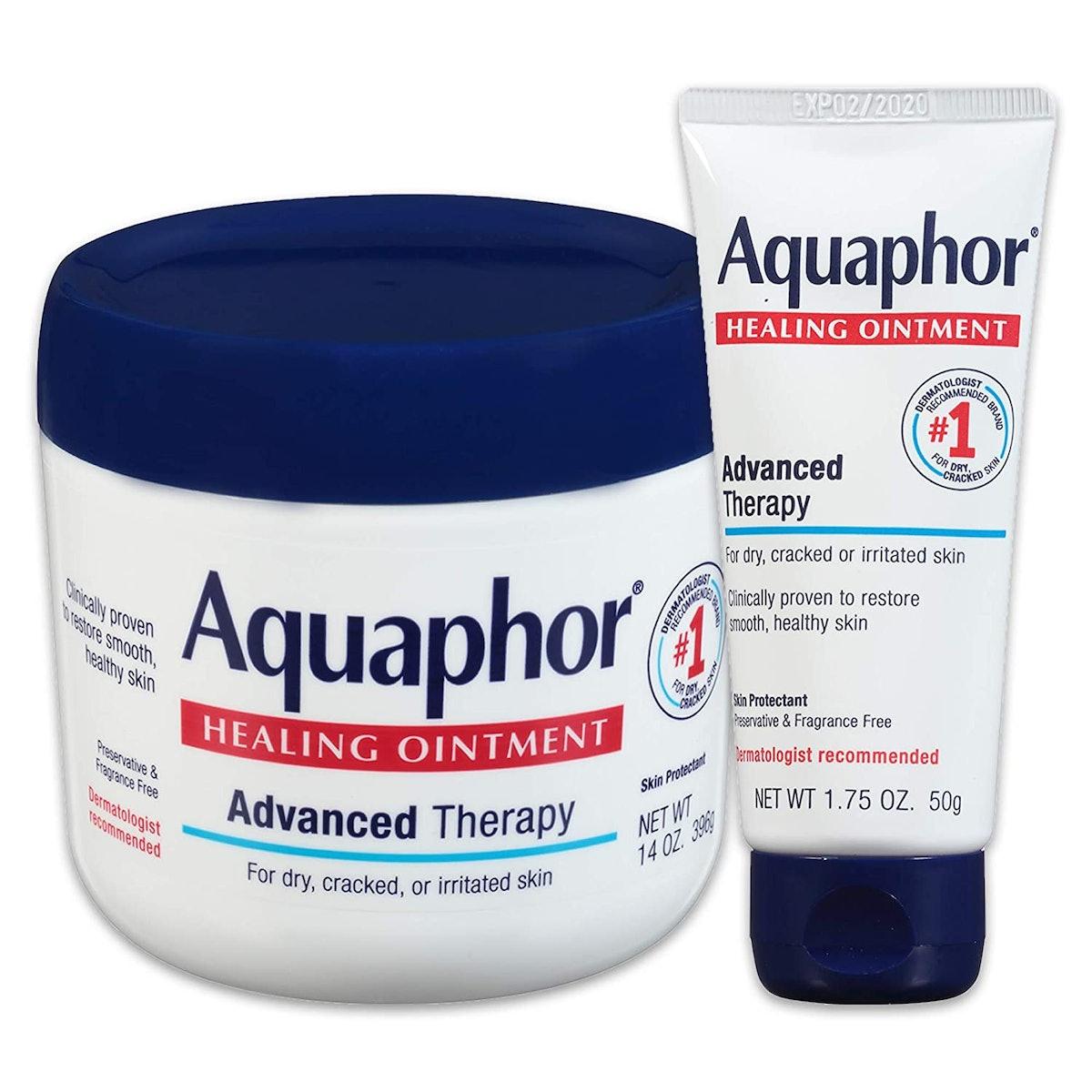 Aquaphor Healing Ointment (14 Oz. Jar + 1.75 Oz. Tube)